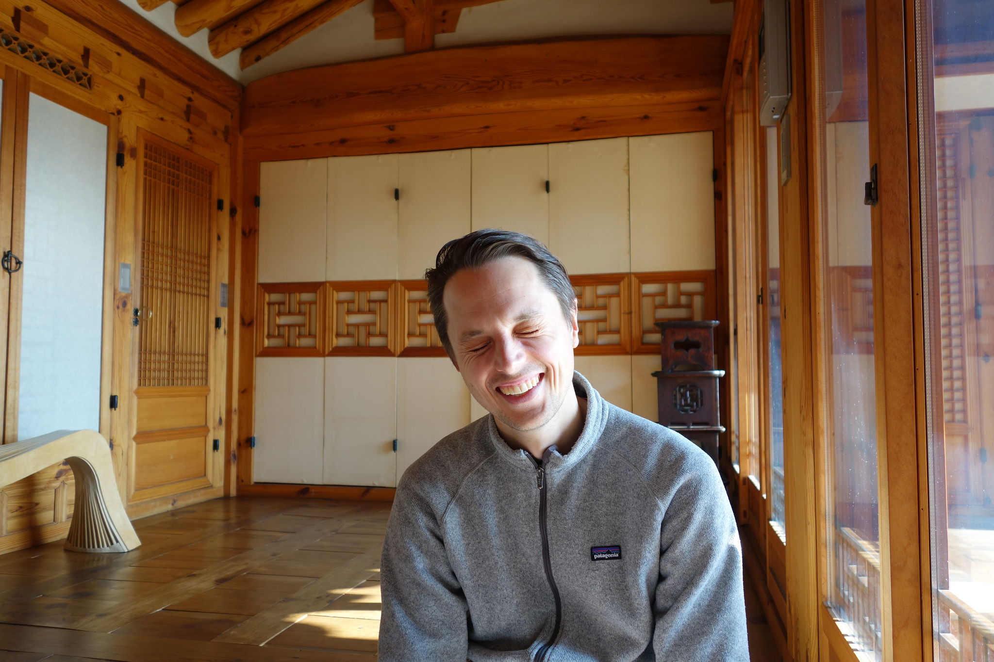 Kars Alfrink at Simsimheon in 2014